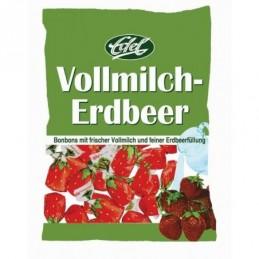Edel Vollmilch-Erdbeer Bonbons