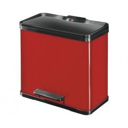 Czerwony separator odpadów...