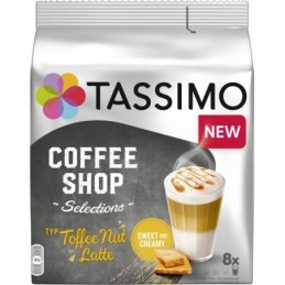 Tassimo kapsułki Coffee Shop Selections Typ Toffee Nut Latte, 8 szt.