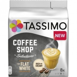 Tassimo kapsułki Coffee Shop Selections Typ Flat White, 8 szt.