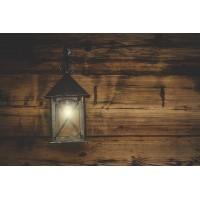 Lampy z drewnem